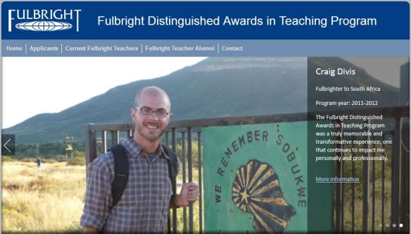 Fulbright Distinguished Awards in Teaching Program website