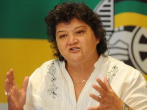 Lynne Brown, South Africa's new Minister of Public Enterprises