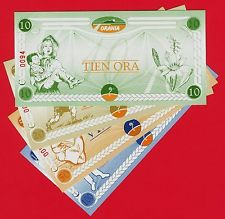 Orania currency - the Ora 2