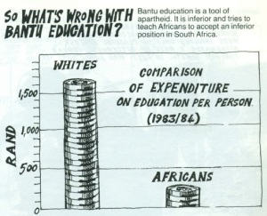 Bantu education graph