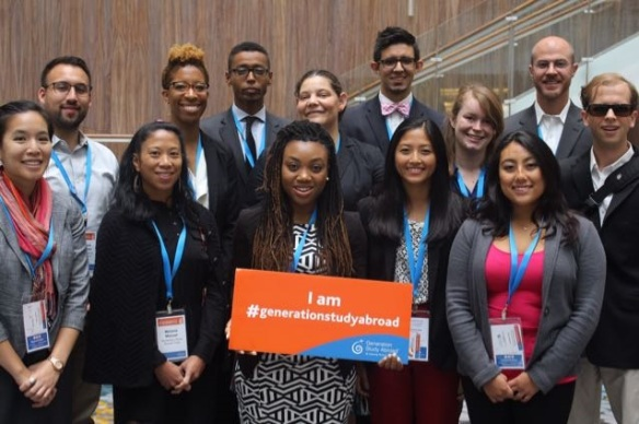 Generation Study Abroad Voices at the IIE Summit - Oct. 1, 2015