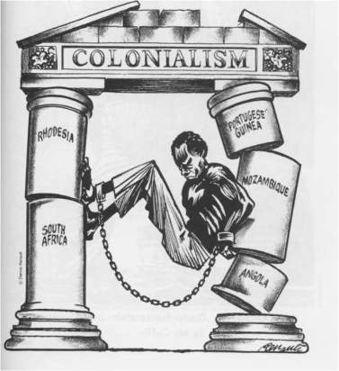 Colonialism cartoon africa